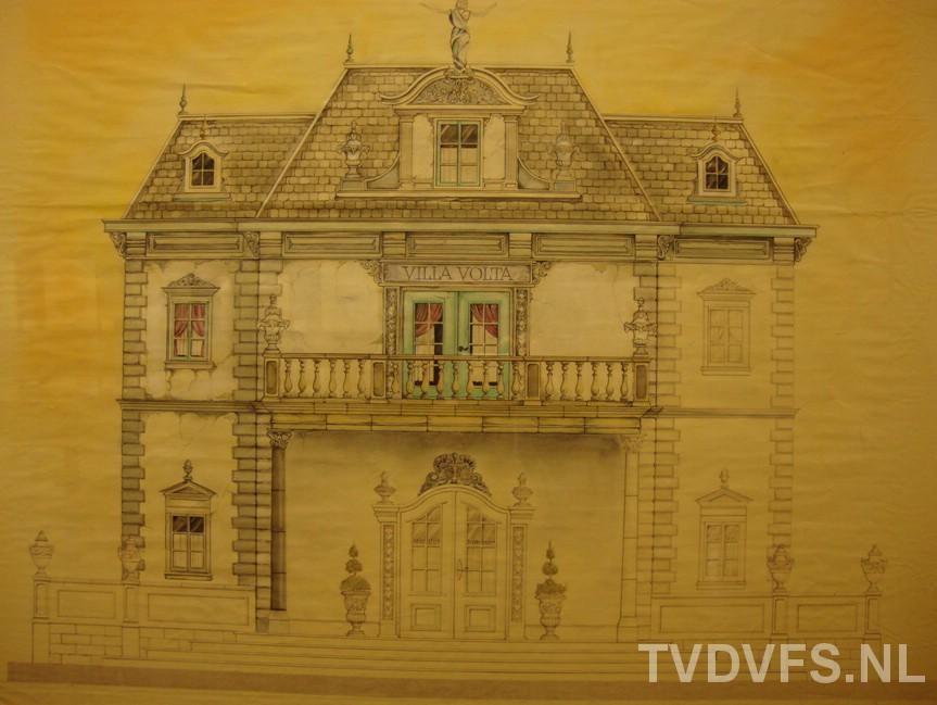 00115 Tekeningen Villa Volta